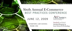 Sixth Annual E-Commerce Best Practices Conference