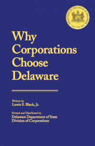Why Corporations Choose Delaware