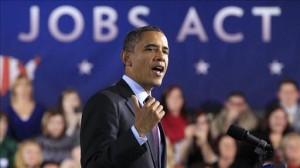 President Barack Obama - JOBS Act